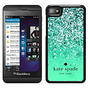 Unique Designed Kate Spade Cover Case For Blackberry Z10 Black Phone Case 161
