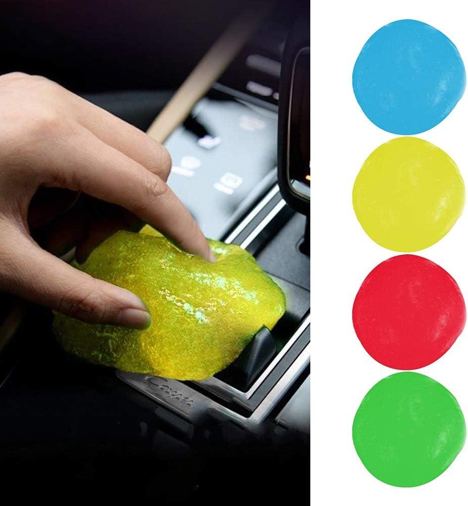 Etophigh Sticky Clean Glue Silica Gel Auto PC Computer Laptop Tastatur Staub Schmutz Adsorption Cleaner Befreien Sie Ihre Elektronik von Keimen