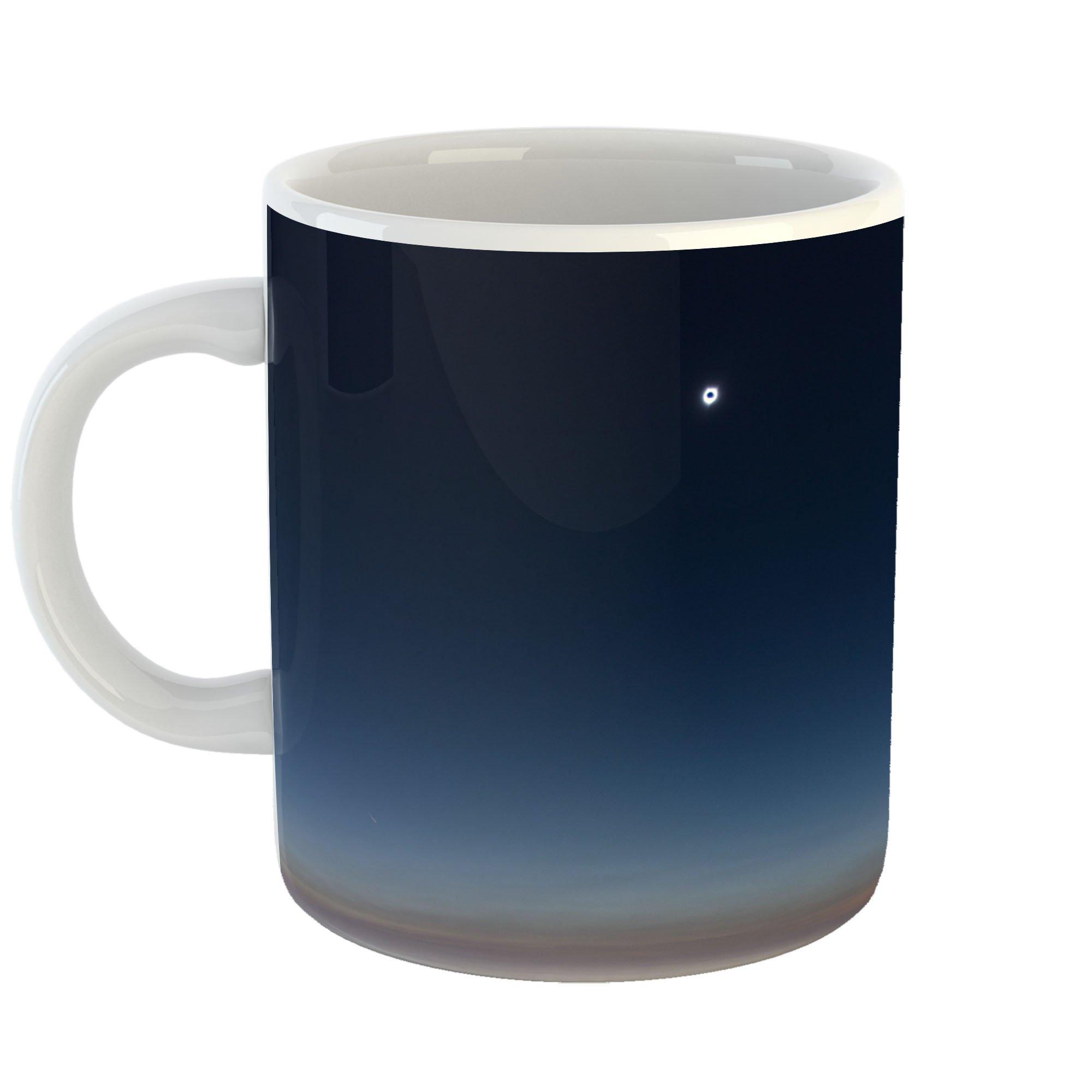 Westlake Art - Horizon Solar - 11oz Coffee Cup Mug - Modern Picture Photography Artwork Home Office Birthday Gift - 11 Ounce (1DB5-73036)
