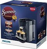 Senseo Quadrante hd7866Machine de café en capsules 1.2L 8tasses Gris–Cafetière (autonome, entièrement automatique, Machine de café en capsules, dosettes de café, gris, droit)