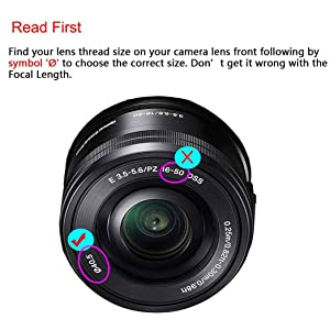 40.5mm Snap-on Lens Cap Cover for Sony E-Mount 16-50mm F3.5-5.6 Lens for Sony Alpha a6500 a6400 a6300 a6000 a5100 a5000 Camera, ULBTER Center Pinch Lens Cap Lens Cover -3 Pack (Color: 40.5mm)