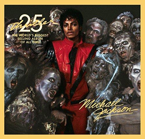 Thriller: 25th Anniversary Edition (CD + DVD) (Hardbook Cover) by Michael Jackson (2008-02-12)