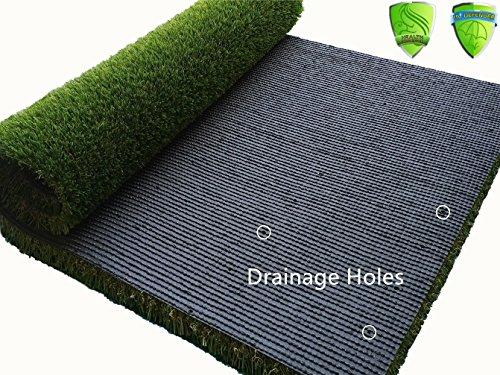 Dog Artificial Grass Mat 28x40 Inch Rug Outdoor Rubber
