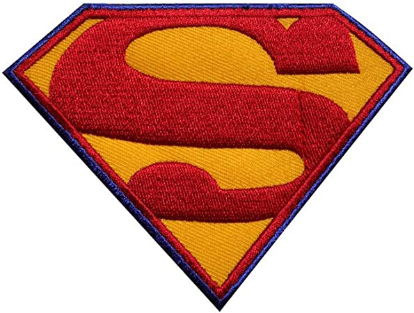Parche bordado para coser y planchar de Superman, para ...