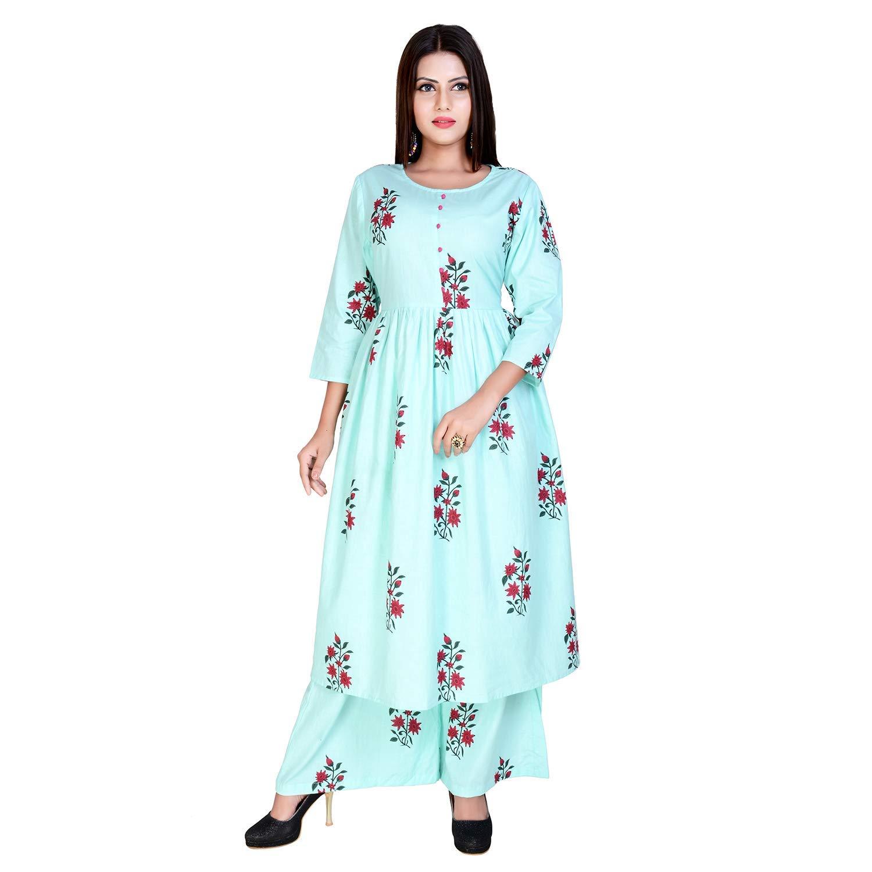 Marlin Women's Cotton Readymade Salwar Suit