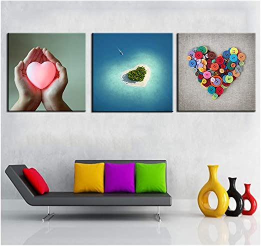 Unframed Colorful Modern Art Canvas Oil Print Painting Picture Home Wall Decor 1
