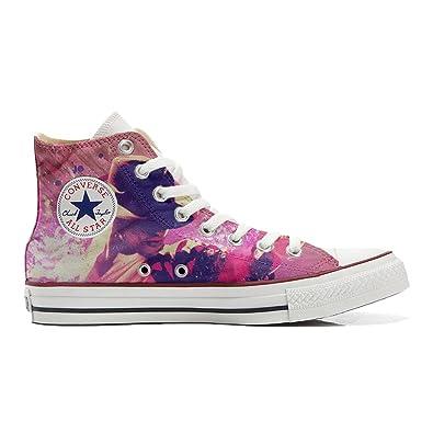 Converse All Star Zapatos Personalizados (Producto Handmade) Michael Jackson Style: Amazon.es: Zapatos y complementos