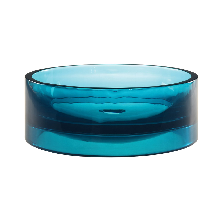 Decolav 2806白熱光Tall Round容器シンク 2806-LAG 1 B005D64HLO ラグーン ラグーン