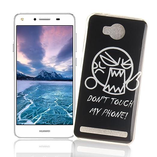 8 opinioni per XiaoXiMi Cover Huawei Y3 II/Y3 2 Custodia in Silicone Gomma Gel per Huawei Y3