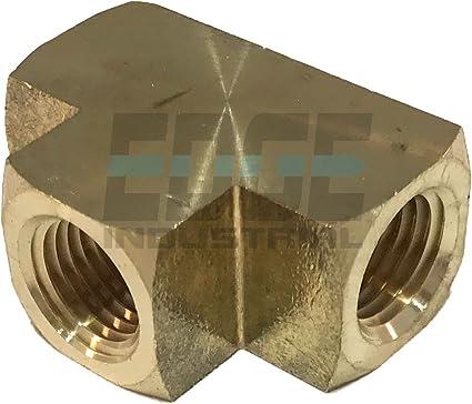 EDGE INDUSTRIAL Male Branch TEE 1//4 NPT Fuel//AIR// Water//Oil// Gas WOG