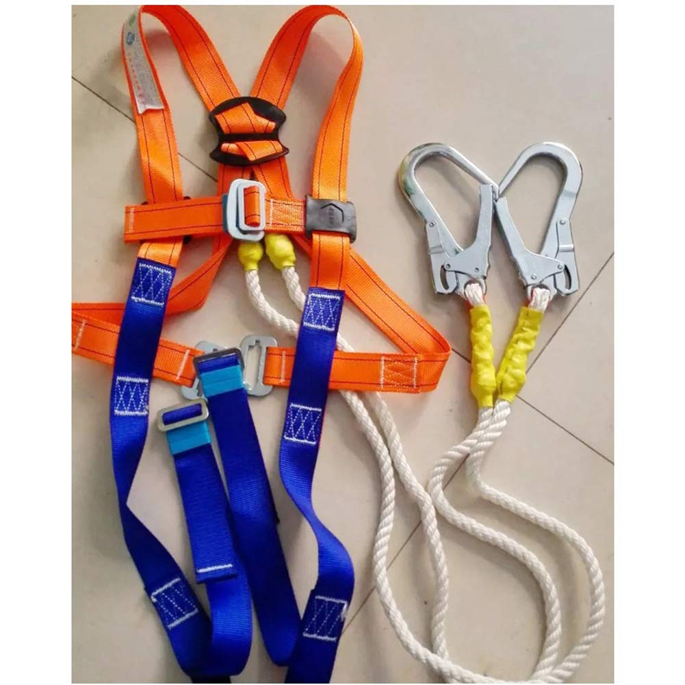 Universal Fit TUXI Aerial Work Safety Belt Fall Protection Safety Rope Electrician Safety Harness