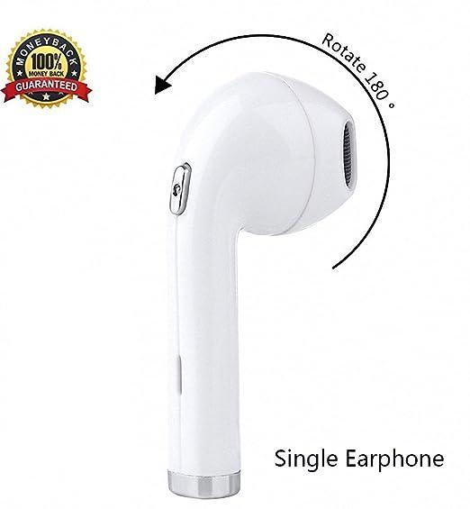 087244bdae9 Wireless Bluetooth Earbuds,180°Rotation i8 Mini Wireless Earphone In-Ear  Earphone,