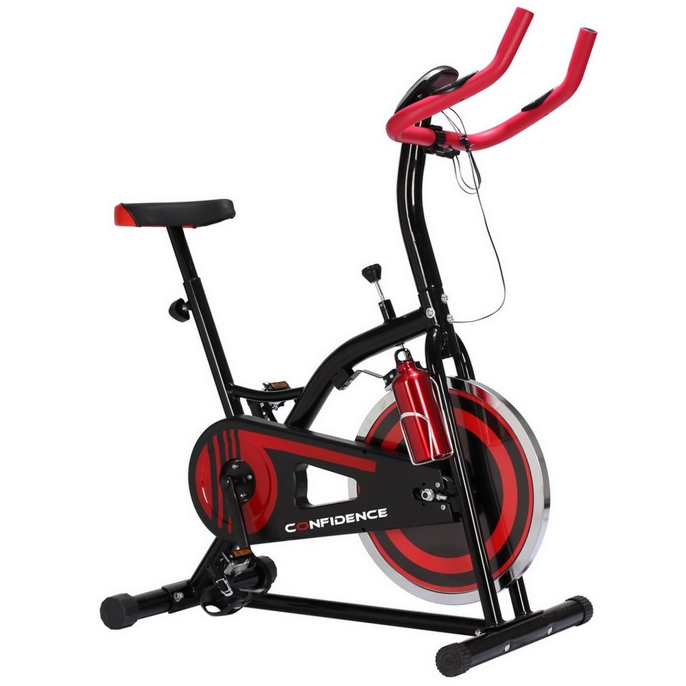 Confidence S1000 Indoor Cycling Exercise Bike W 10kg Flywheel