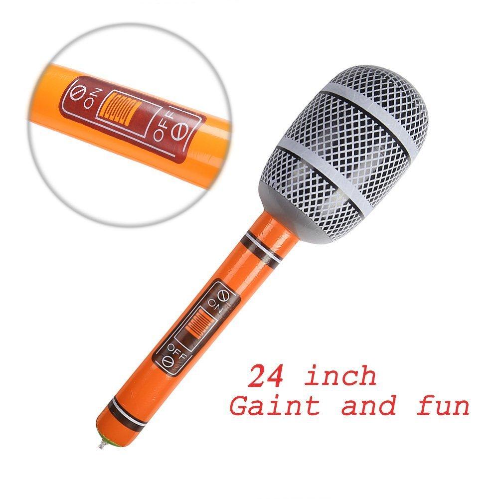 Amazon.com: Decora 6 piezas Juguete Inflable Guitarra ...