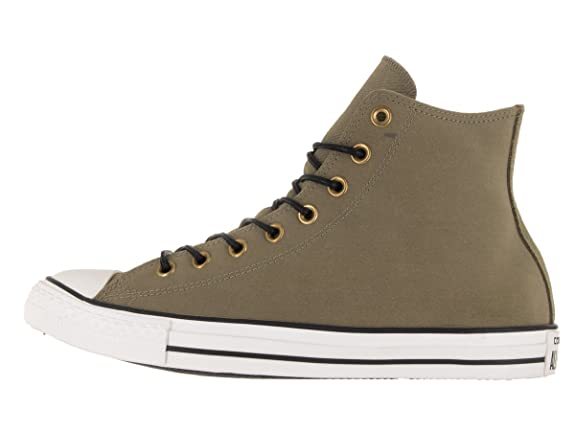 ConverseChuck Taylor All Star Mono Leather Hi - Botines adultos unisex , color Verde, talla 42.5
