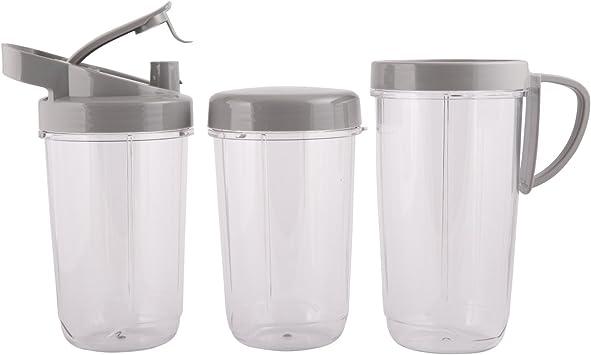 BioChef BCNB Mini batidora, Recipiente de tritán sin BPA, Cuchillo ...