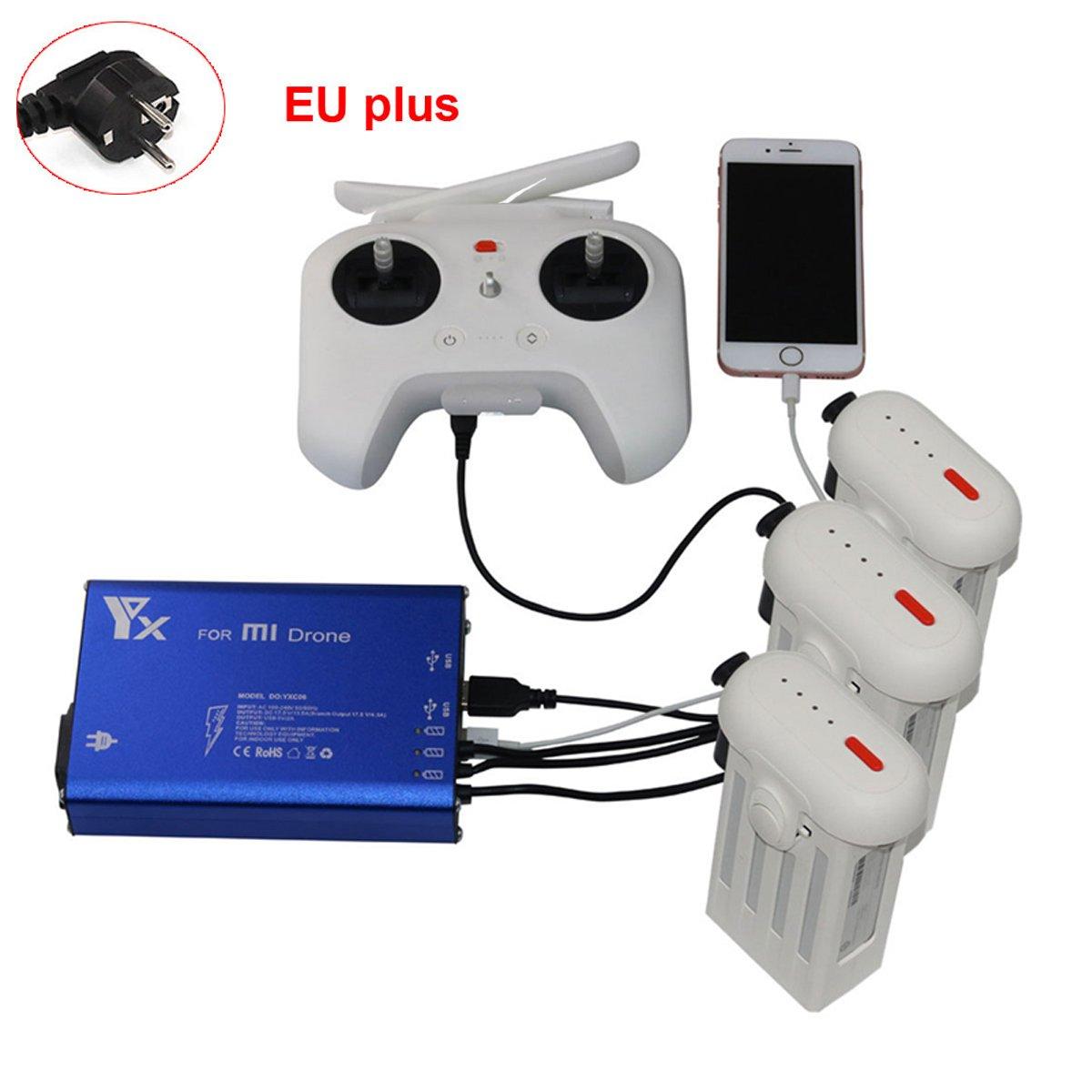 5 en 1 Drone Charger Accessories Repuestos Batería y transmisor de ...