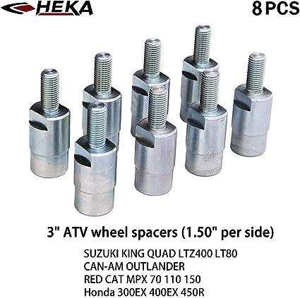 "3/"" ATV WHEEL SPACERS fit SUZUKI KING QUAD LTZ400 LT80//CAN-AM//RED CAT//Honda 16PCS"