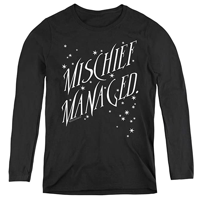 Harry Potter Mischief Managed 4 Adult Tank Top
