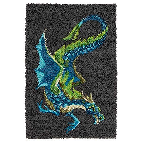 Herrschners® Water Dragon Latch Hook Kit