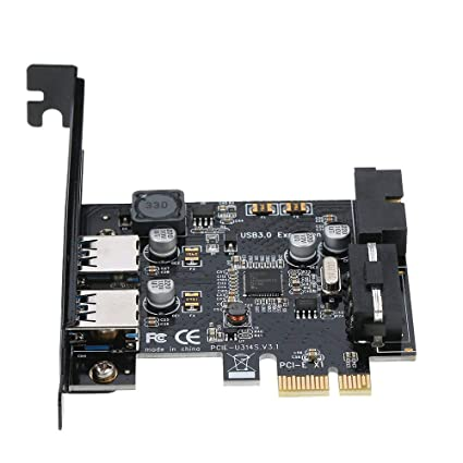 Amazon.com: STW PCI-E a USB 3.0 2 puertos PCI Express ...