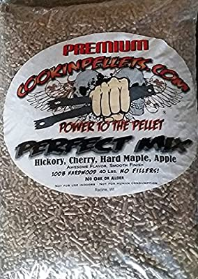 CookinPellets 40PM Perfect Mix Smoking Pellets by epic GJ & AM LTD, LLC D.B.A.