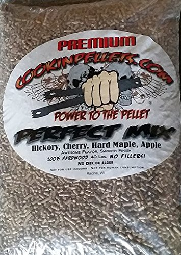 CookinPellets 40PM Perfect Mix Smoking Pellets (Cooking Chunks)