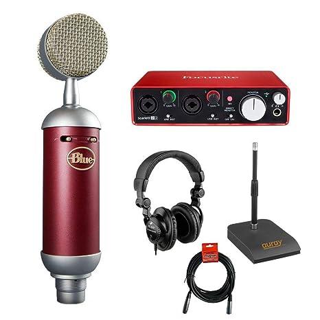 Amazon.com: Blue Spark SL - Micrófono de condensador de ...