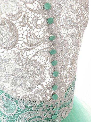 Champagner Brautjungfernkleid Ballkleider A JAEDEN Tüll Damen Abendkleider Lang Linie a6gP8fPcq