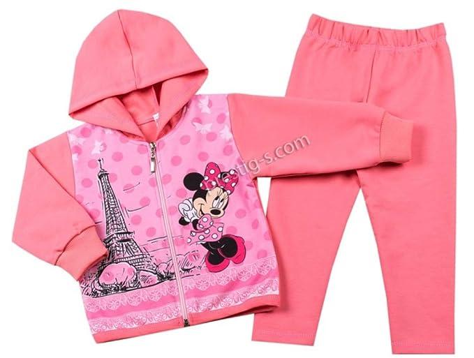 Slaveika - Chándal para niña con diseño de Minnie Mouse, Dos ...