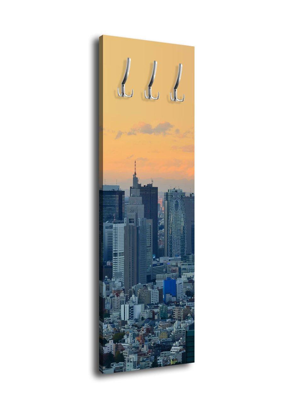 wandmotiv24 Perchero con diseño Tokyo Skyline Shin juku G394 ...