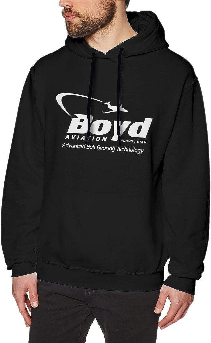 Kangtians Mens Boyd Aviation Sweatshirts Hoodie Pullover