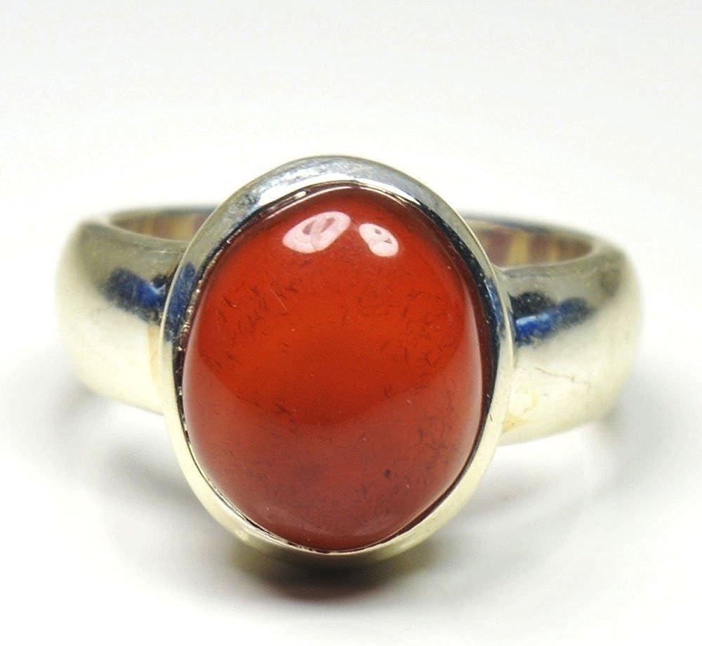 Carnelian Ring Size 5 12