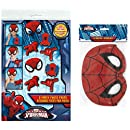 Marvel Spiderman 8ct Party Masks and Photo Props