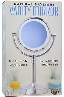 Amazon natural daylight lighted vanity mirror kitchen dining sunter natural daylight vanity makeup mirror aloadofball Choice Image