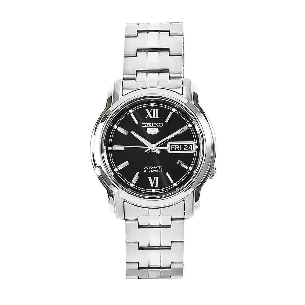 SEIKO5 セイコー5 腕時計 オートマチック メンズウォッチ SNKK81K1 ブラック 【並行輸入品】 B004JI6EWC