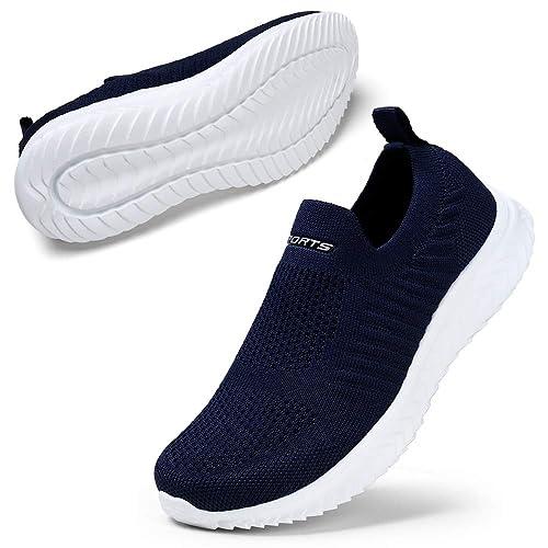 Stq Slip On Sneakers Leichte Damen Freizeitschuhe Atmungsaktiv Bequem Mesh PuZkwXTOil