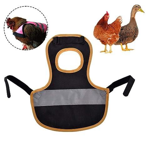 Chaleco reflectante para mascotas Ropa de pollo Delantal de silla ...