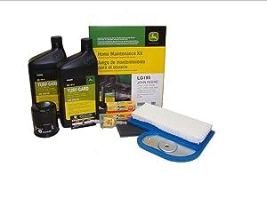 John Deere Maintenance Kit LX277, 325, LX288, LT190, GT235, LX280, LT180, GX325 Filters, Oil LG195