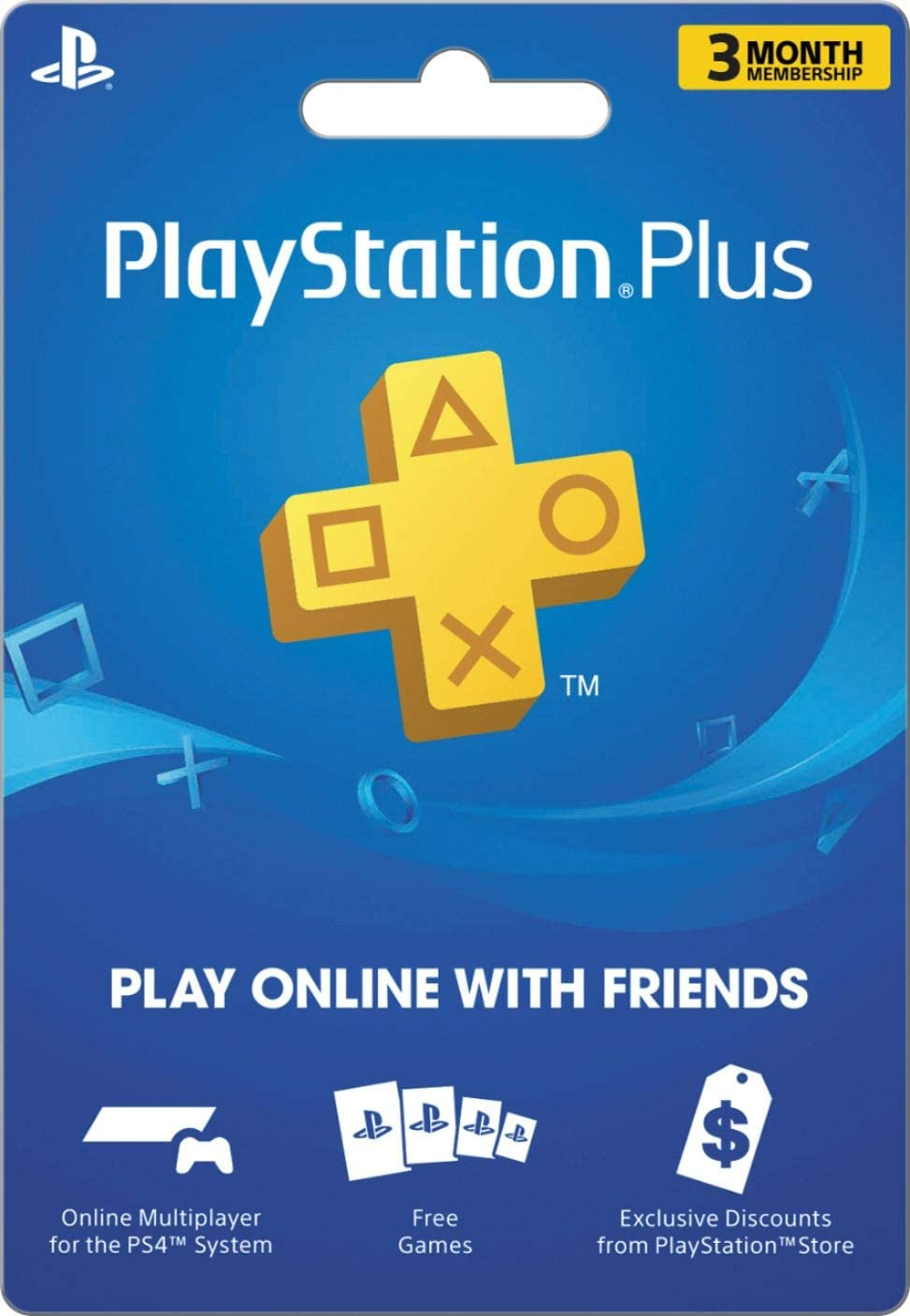 Sony PS Plus 3 Month Sub Card Live (3000132)