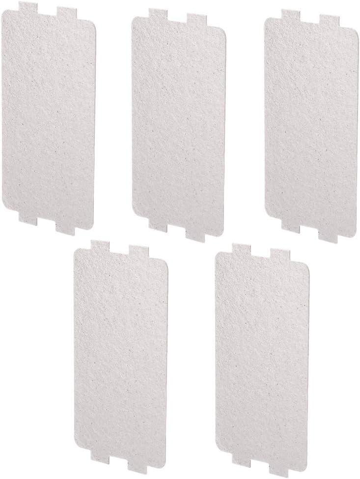 5PCS Accessoire de r/éparation de remplacement de feuille de plaque de mica de four /à micro-ondes