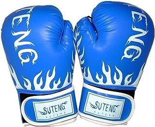QUANGJISH Gants de Boxe en Cuir Sac Mitaines Kickboxing Boxe équipement Muay Thai Formation
