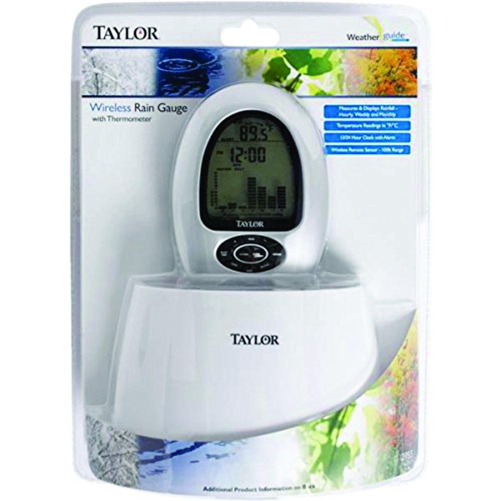 Amazon.com : Taylor 2755 Digital Wireless Rain Gauge & Thermometer : Garden & Outdoor
