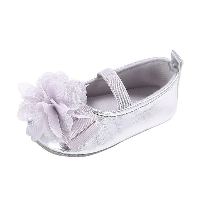 Minuya Säugling Baby Mädchen Blume Weiche Sohle Schuhe Prinzessin ...