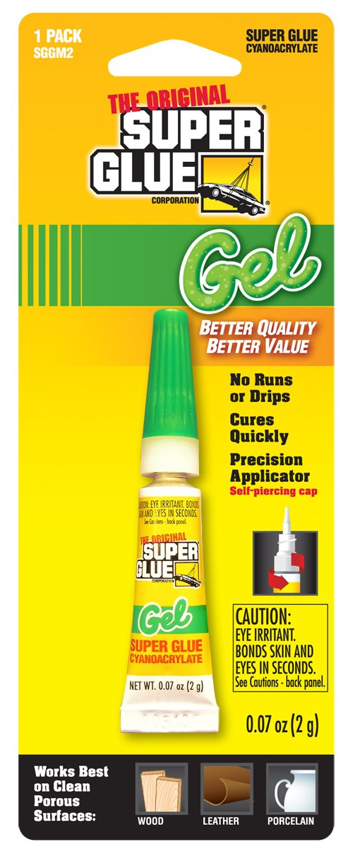 Super Glue Super Glue SGGM2-12 Gel, 12-Pack(Pack of 12)