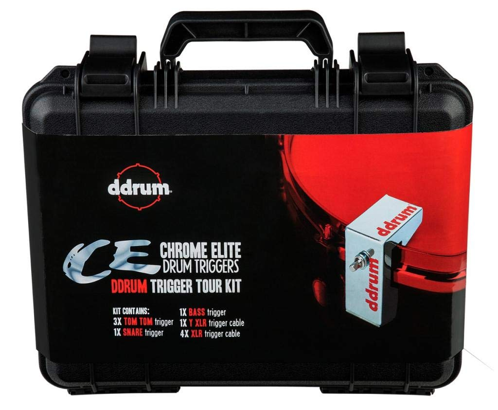 ddrum CETOURPK CE Trigger Pack with Case and Cables by Ddrum
