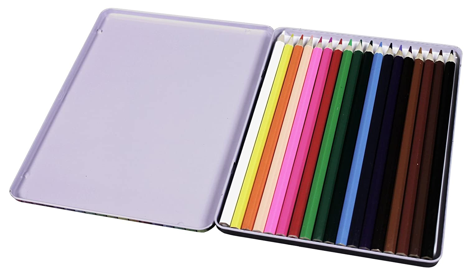 2XCOLOUR Therapy 18 Professional Pencil Crayons in TIN BX