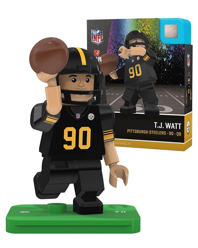 T.J Watt OYO Sports Pittsburgh Steelers Color Rush Generation 4 G4 Minifigure