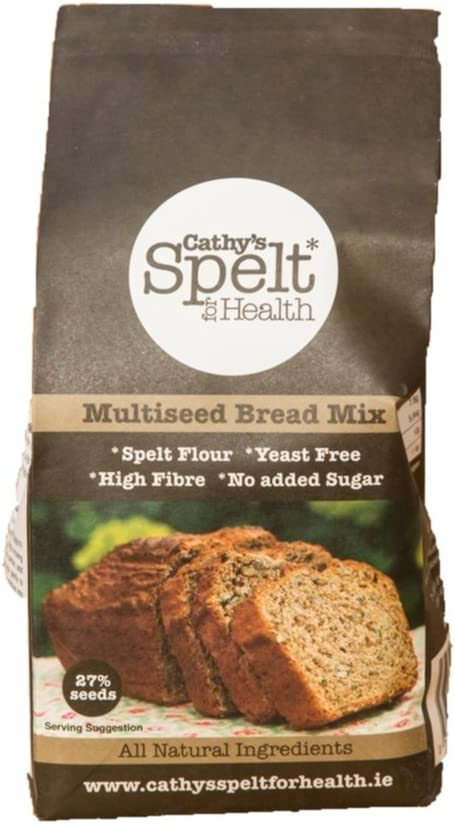 Cathys Spelt for Health Mult iseed Bread Mix (Back Mezcla para ...