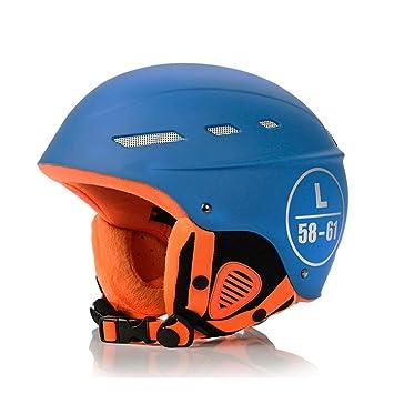 DYHQQ Casco De Esquí Exclusivo Más Cálido A Prueba De Viento Adulto Integralmente Deportes De Nieve